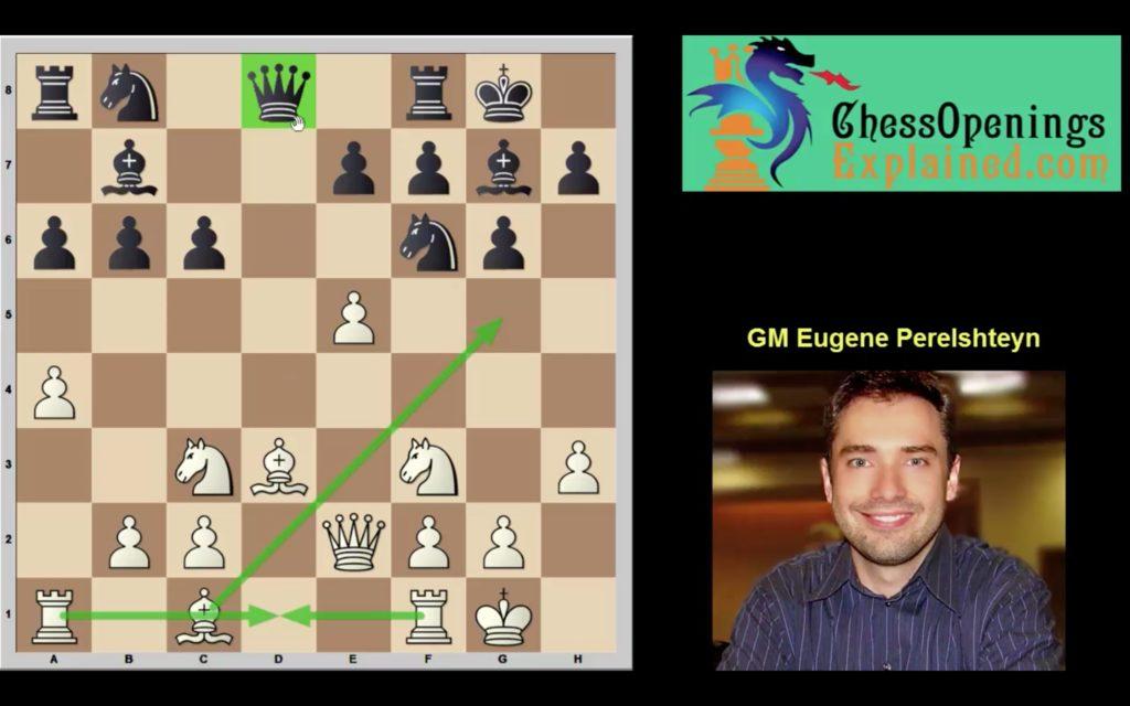 GM Eugene Perelshteyn crushes a passive Pirc set-up